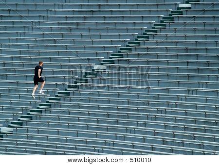 Gradas de Running hombre