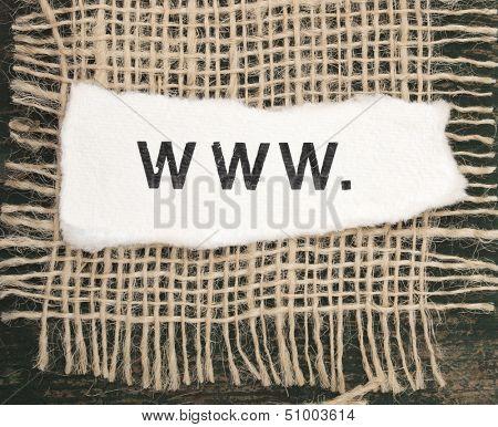 beginning of URL