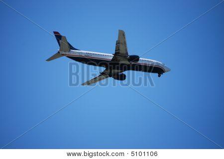 Airplane Ankunft