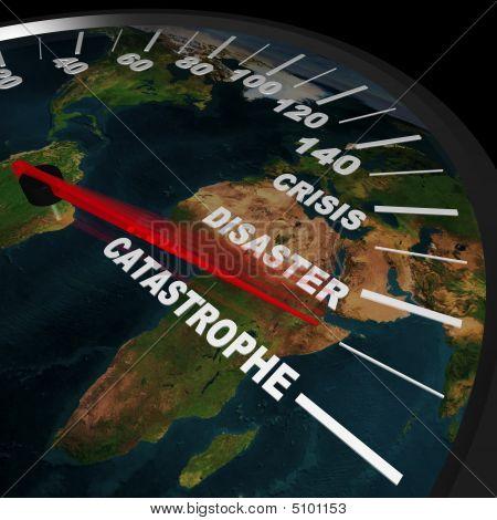 Speeding Toward Global Catastrophe