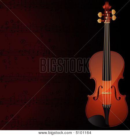 Violine Hintergrund