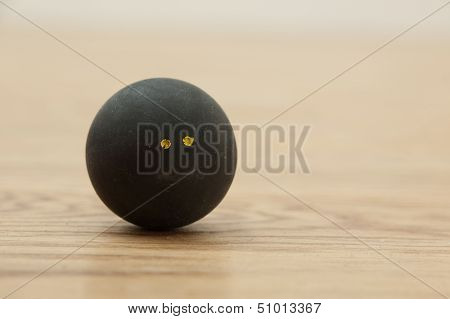 Double Yellow Dot Squash Ball