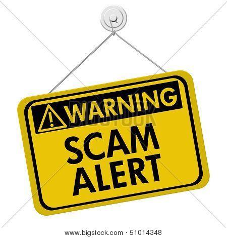 Warning Of Scam Alert