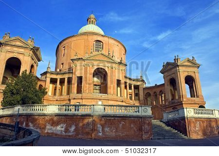 view of san luca - bologna