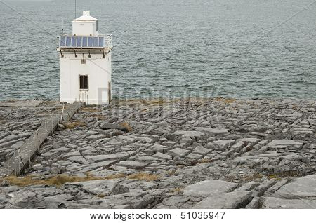 Blackhead Lighthouse In The Burren, Co.clare - Ireland