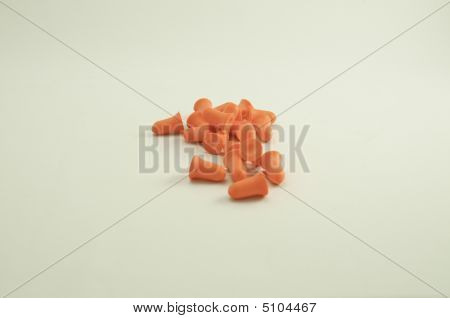 Orange Ear Plugs