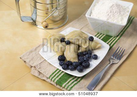 Bluberry Pierogi