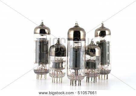 Glass Vacuum Radio Tubes