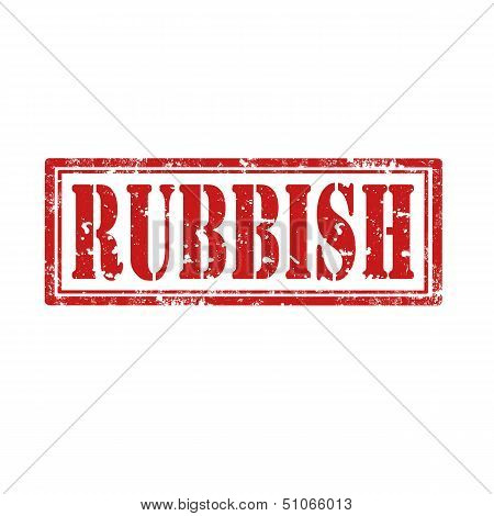Rubbish-stamp