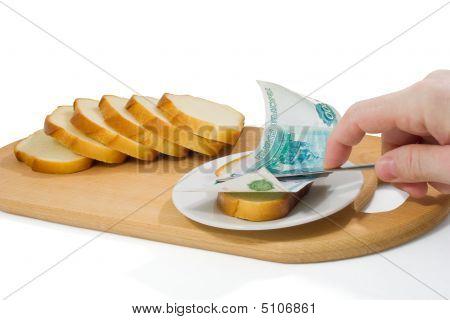 Dinheiro para o pão