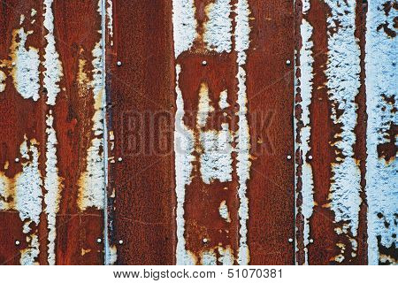 Old Rusty Wall
