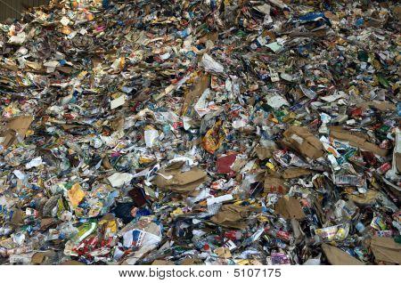 Paper Plastic Pile