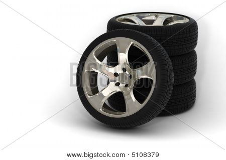 4 Car Wheels