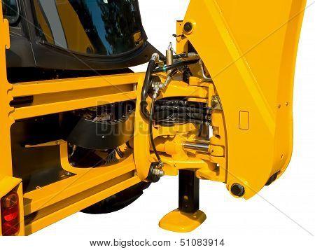 Hydraulics closeup