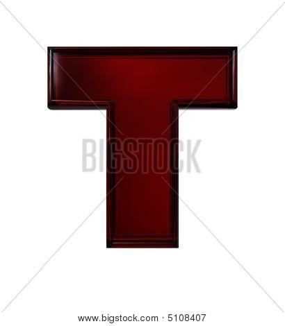 Plastic Letter T