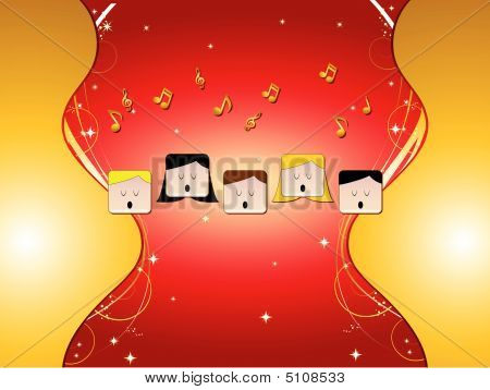 Choir With Ornaments