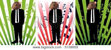 Rat In Suit