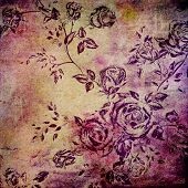 pic of arts crafts  - Wall background or vintage texture - JPG