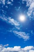 image of clouds sky  - White clouds and sky in blue sky - JPG