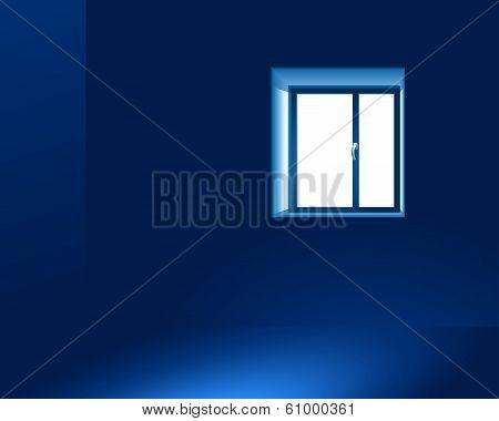 Light Through A Window.