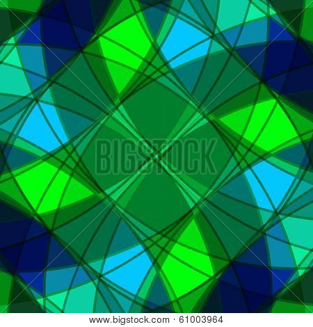 Abstract background from geometrical figures.