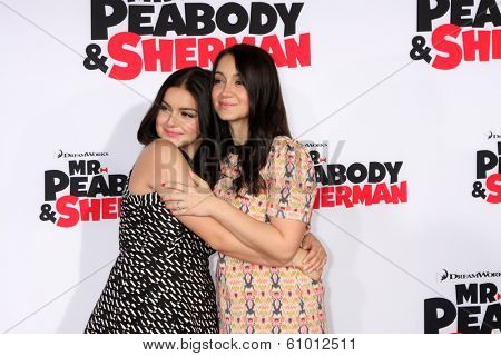 LOS ANGELES - MAR 5:  Ariel Winter, Shanelle Workman at the