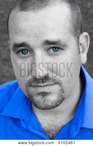 Blue Eyed Man