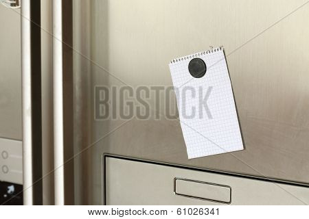 Note On Refrigerator