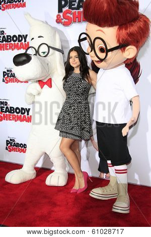 LOS ANGELES - MAR 5: Ariel Winter at the premiere of 'Mr. Peabody & Sherman' at Regency Village Theater on March 5, 2014 in Los Angeles, California