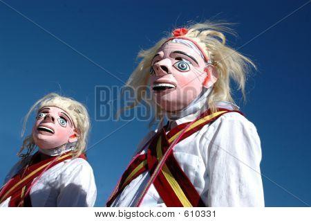 Native Mask Dancers