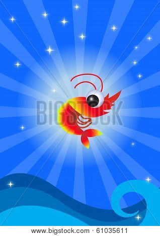 Funny shrimp
