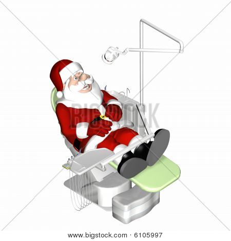 Santa At The Dentist