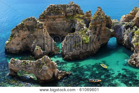Clear Waters in Algarve