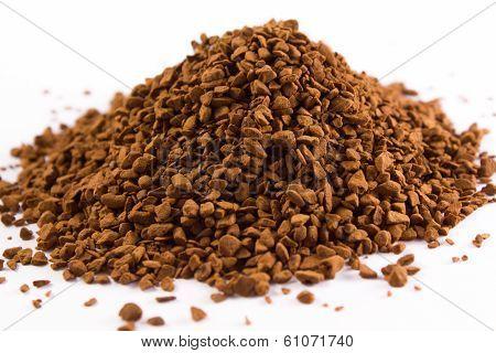 Pile Of Coffee Granules