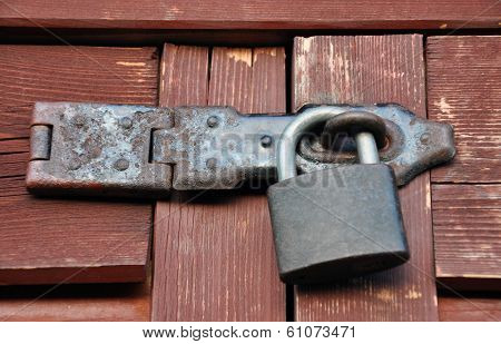 Lock and latch