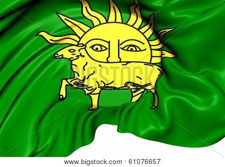Flag Of The Shah Tahmasp I