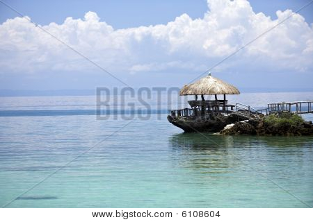 Tropical Island Hut