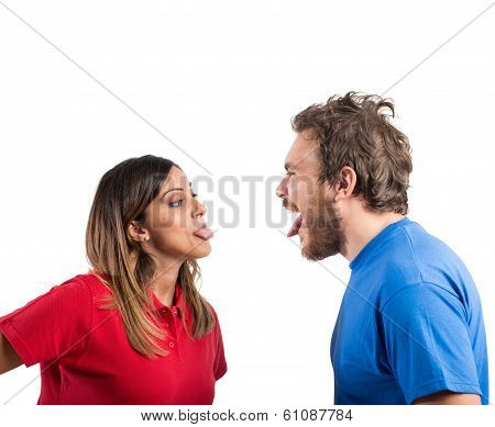Grimace Couple