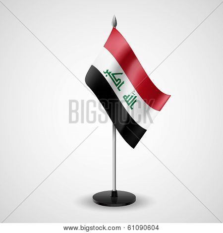 Table flag of Iraq