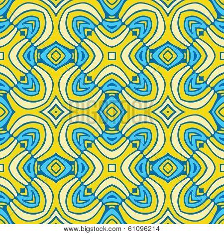 Abstract seamless Golden pattern