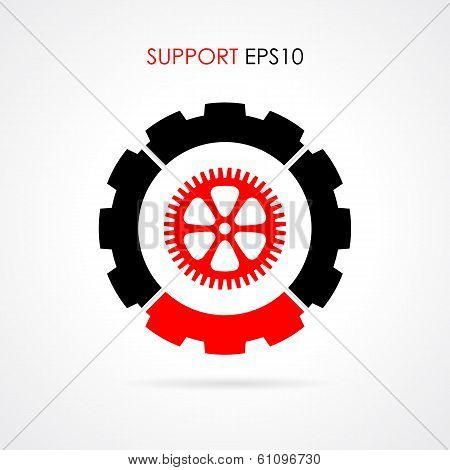Technical support logo
