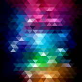 Geometric mosaic background