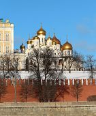 stock photo of archangel  - churches of the Moscow Kremlin Cathedral of the Annunciation - JPG