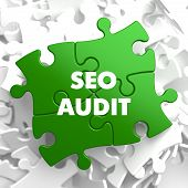 SEO Audit on Green Puzzle.