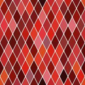 stock photo of harlequin  - Harlequin autumnal background - JPG