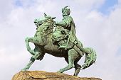 stock photo of hetman  - Monument of Bohdan Khmelnytsky - JPG