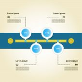 picture of box-end  - Modern time line design template - JPG
