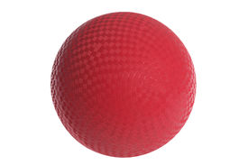 picture of knockout  - Red Rubber Ball - JPG