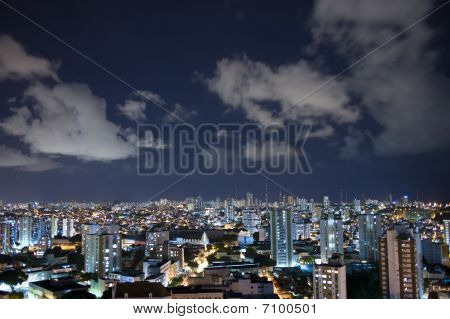 Salvador City At Night