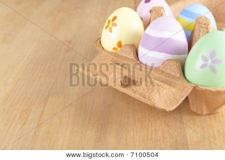 Easter Egg Box Angled
